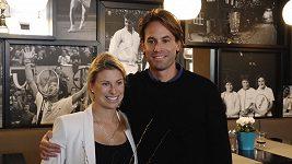 Tenistka Andrea Sestini Hlaváčková je těhotná