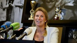 Tenistka Andrea Sestini Hlaváčková očekává prvního potomka