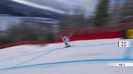 MS v alpském lyžování v Aare, sjezd žen, Vonnová a Štuhecová