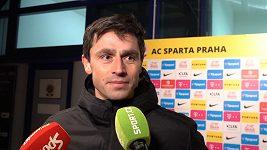 Kamil Vacek netajil radost z toho, že fanoušci Sparty volali jeho jméno
