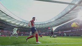 Sestřih utkání La Ligy Atlético Madrid – Real Madrid