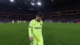 Sestřih utkání 23. kola La Ligy Bilbao - Barcelona