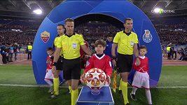 Sestřih osmifinále Ligy mistrů: AS Řím - Porto