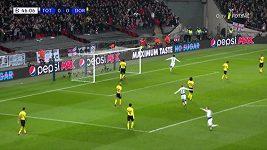 LM - první osmifinále: Tottenham - Dortmund (3:0)