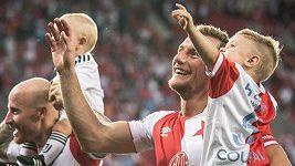 Slavia se chystá na Genk.