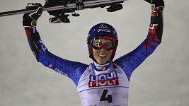 Petra Vlhová vyhrála obří slalom na mistrovství světa ve švédském Aare