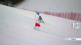 Řecká slalomářka minula cíl