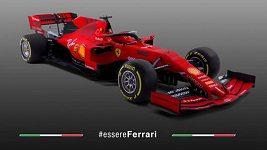 Ferrari představilo monopost F1 pro sezónu 2019