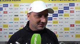 Trenér Trpišovský nevyloučil před Plzní změny v slávistické sestavě