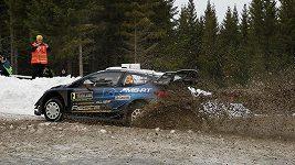 Ott Tänak drží vedení na Švédské rallye.