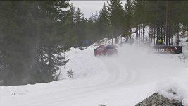 Estonský pilot Ott Tänak vyhrál s toyotou Švédskou rallye.