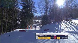 Finka Kerttu Niskanenová vyhrála na SP v běhu na lyžích v Cogne závod na 10 km klasicky a slaví druhé vítězství kariéry.