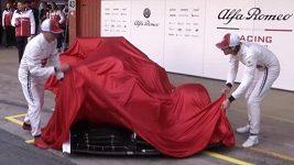 Prezenace monopostu Alfa Romeo C38