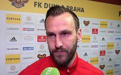 Takhle parádní gól jsem ještě nedal, ale prohra hodně bolí, říká kapitán Dukly Branislav Miloševič