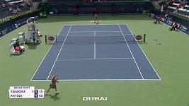 Kvitová vyhrála české tenisové derby se Siniakovou, byla to ale bitva