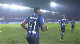 Sestřih utkání 24. kola Serie A Atalanta - AC Milán