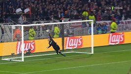 LM - první osmifinále Lyon - Barcelona