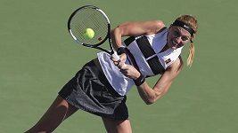 Dubaj, osmifinále: Kvitová - Bradyová (7:5, 1:6, 6:3)