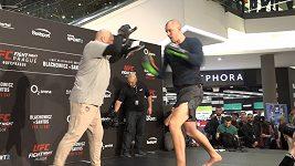 UFC trénink