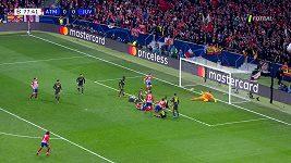LM - první osmifinále Atlético Madrid - Juventus