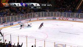 Gól přes celé hřiště. I to je možné v KHL.