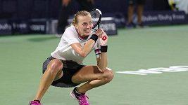 Petra Kvitová postoupila do finále turnaje v Dubaji