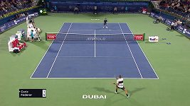 Federer se v Dubaji probojovla do finále.