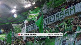 Sestřih utkání 24. kola německé fotbalové ligy Wolfsburg - Brémy