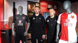 Slavia má nové dresy. Jak se vám líbí?