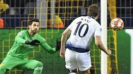 Kane dal v dresu Tottenhamu svůj 24. gól na evropské scéně