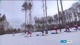 Rus Jakimuškin diskvalifikován v lyžařském sprintu na univerziádě