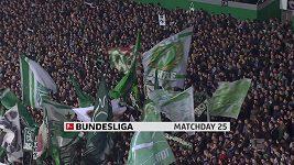 Sestřih utkání 25. kola německé fotbalové ligy Brémy - Schalke