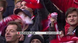 Sestřih utkání 25. kola Bundesligy Bayern Mnichov - Wolfsburg