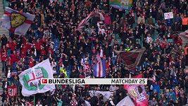 Sestřih utkání 25. kola Bundesligy Lipsko - Augsburg