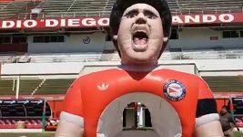 Nafukovací Diego Maradona
