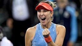Sestřih utkání Bencicová - Ósakaová na turnaji v Indian Wells