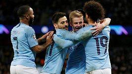 Sestřih utkání fotbalové Ligy mistrů Manchester City - Schalke
