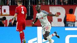 Sestřih utkání fotbalové Ligy mistrů Bayern - Liverpool