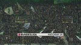Sestřih utkání 26. kola německé fotbalové ligy Mönchengladbach - Freiburg