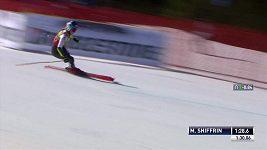 Americká lyžařka Mikaela Shiffrinová triumfovala v obřím slalomu ve finále Světového poháru v Soldeu