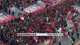 Sestřih utkání 26. kola německé fotbalové ligy Leverkusen - Brémy