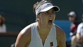 Sestřih finále v Indian Wells: Andreescuová - Kerberová