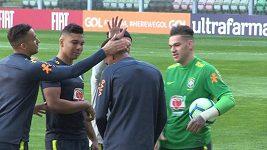 Brazilci se v Portu připravují na zápas s Panamou a českým týmem.