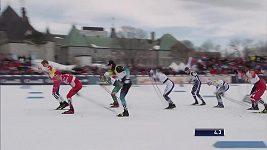 SP v běhu na lyžích - Québec. Klaebo a Nilssonová ovládli sprinty