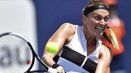 Sestřih zápasu 3. kola turnaje v Miami mezi Kvitovou a Vekičovou