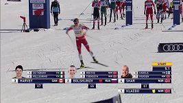 SP v běhu na lyžích, Québec, závěrečný závod mužů vyhrál Klaebo