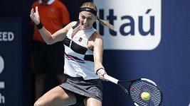 Sestřih osmifinále v Miami: Kvitová - Garcíaová