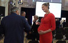 Basketbalistka Ilona Burgrová se už za pár dní stane maminkou