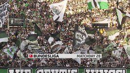Sestřih utkání 28. kola německé fotbalové ligy Mönchengladbach - Brémy
