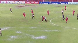 Bláznivý zápas v Brazílii přerušil pes